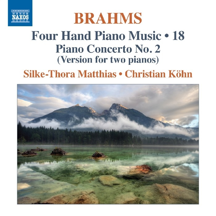 Brahms, Johannes : Four-Hand Piano Music, Vol. 18 (CD)