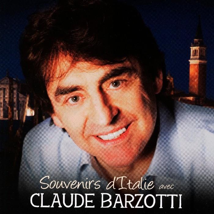 Barzotti, Claude : Souvenirs d'Italie avec Claude Barzotti (CD)