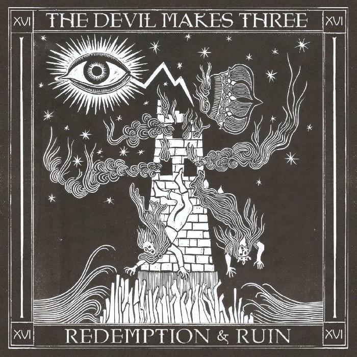 Devil Makes Three (The) : Redemption & Run (LP)