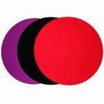 Rega : Couvre plateau de feutre couleur Noir
