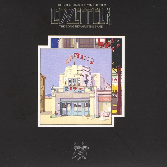 Led Zeppelin : The Song Remains The Same (4LP)