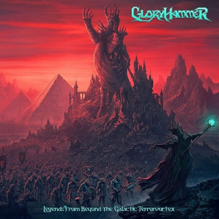 Gloryhammer : Legends From Beyond The Galactic Terrorvortex (LP)