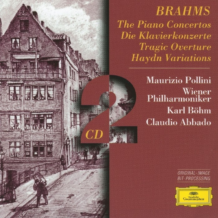 Brahms, Johannes : The Pianos Concertos (2CD)