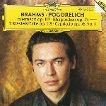 Brahms, Johannes : Intermezzi Op. 117 - Ivo Pogorelich (CD)