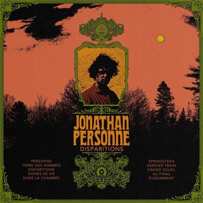 Personne, Jonathan : Disparitions (LP)