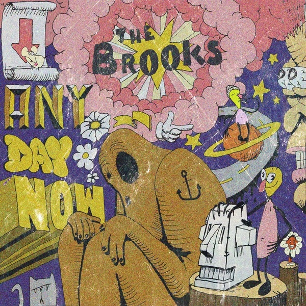 Brooks (The) : Any Day Now - Yellow Vinyl - 2020RSD (2LP)