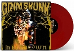 Grimskunk : Meltdown - Red Vinyl (LP)