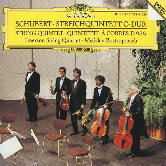 Emerson String Quintet : String Quartet (CD)