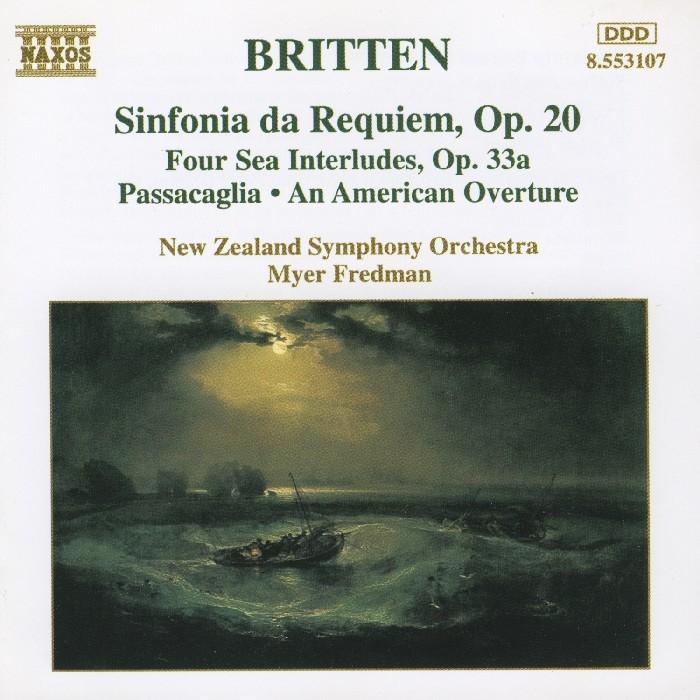 Britten, Benjamin : Sinfonia Da Requiem (CD)
